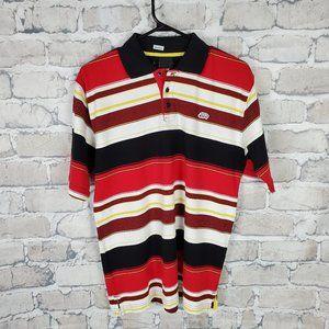Ecko Unltd Striped Polo Short Sleeve Size Large